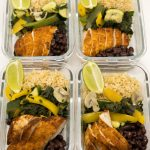 Easy Mexican Chicken Meal Prep Boxes